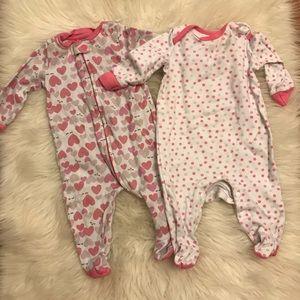 Lamaze Baby Girl Pajamas 6M